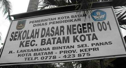 Public Elementary School 001 Batam Kota - School