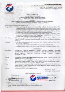 SK DPP Partai Perindo